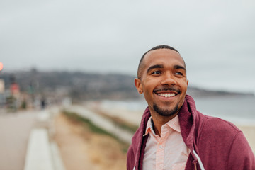 Millennial man at the Beach Fototapete