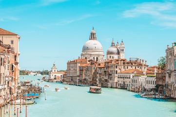 View of santa maria della salute. Italy, Venice. Travel, tourism and leisure concept. Fototapete