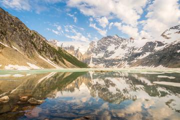 Keuken foto achterwand Historisch mon. Lake of the Hanging Glacier