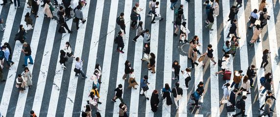 Photo sur Aluminium Tokyo Shibuya crossing
