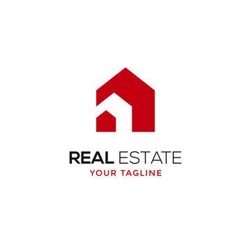 real estate logo modern design template