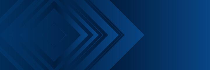 Dark modern navy blue wide banner background with arrow pattern