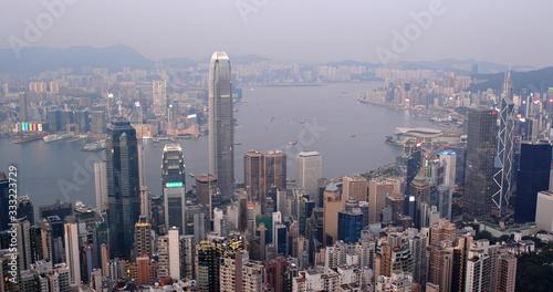 Wall mural  Hong Kong skyline
