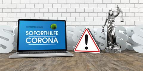 Förderprogramm Soforthilfe Corona