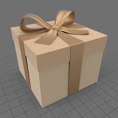 Present box with bow 1