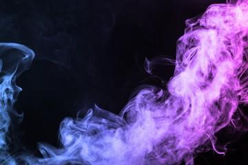 Smoke. Wall mural
