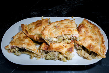 Vegetables Pie