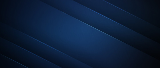 Deurstickers Fractal waves Blue dark background for wide light layer
