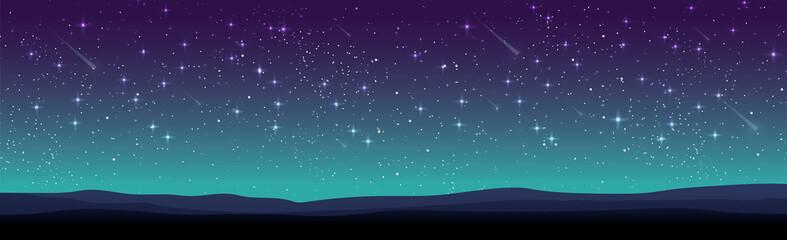 Starry sky Fotobehang