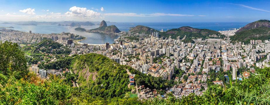Panorama in Rio de Janeiro, Brazil