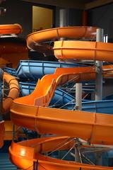 DRUSKININKAI. LITHUANIA. 09 JANUARY 2008 : Water park at Druskininkai recreation and health centre in Druskininkai. Lithuania