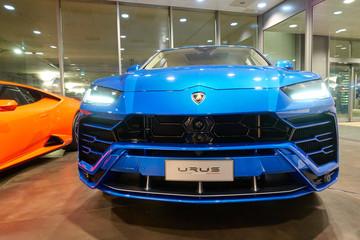 Lamborghini Urus sport car