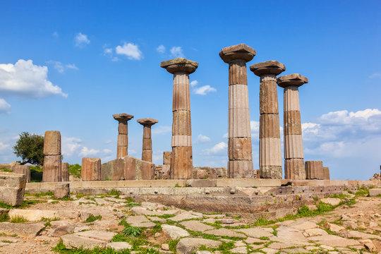 Ancient greek temple in Turkie