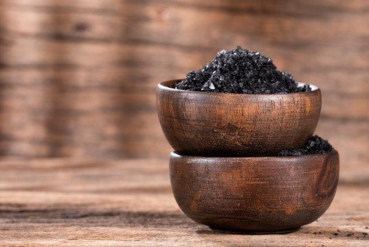 Hawaii black origin salt - Text space