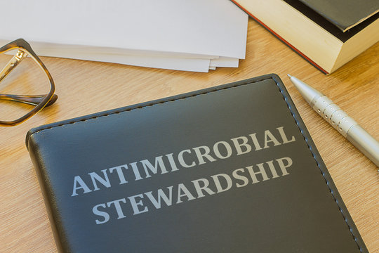 Book about Antimicrobial stewardship (AMS)