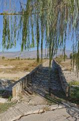 Old Kordhoce bridge from Ottoman period in Albania