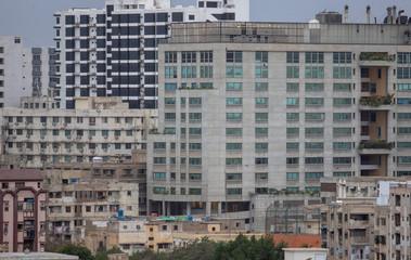 buildings in Karachi PAKISTAN Fototapete