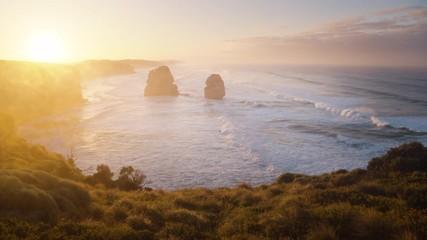 Wall Mural - Twelve Apostles, sunrise time, Australia