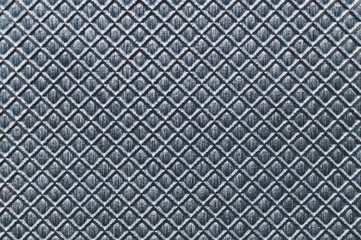 Squared grid abstract texture. gray plastic background. pattern with square shaped cells Wall mural