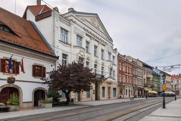 Wall Mural - Street in Miskolc, Hungary