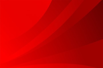 Abstract Elegant Red Wave Gradient Background Design Template Vector