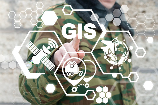 Geographic Information System (GIS) Army Technology. Military Geography Communication Technology.