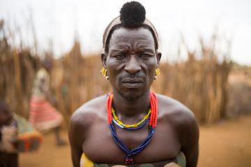 Ethiopian traditional man