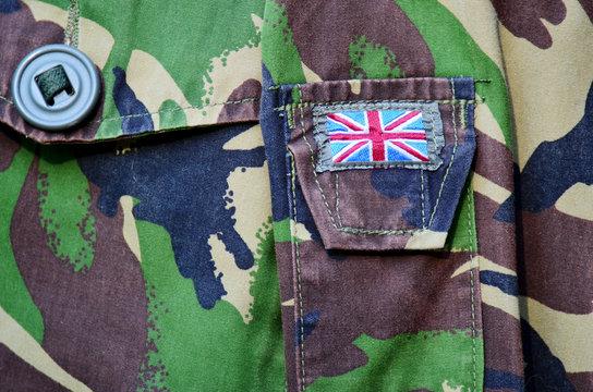 British army uniform