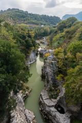 """Marmitte dei Giganti"", a small along the river Metauro located near Fossombrone, in Marches region (central Italy)"
