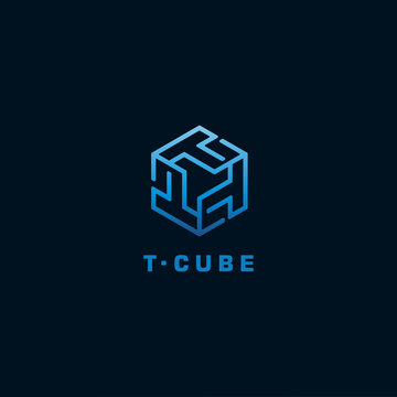 Initial Letter T Logo design Template