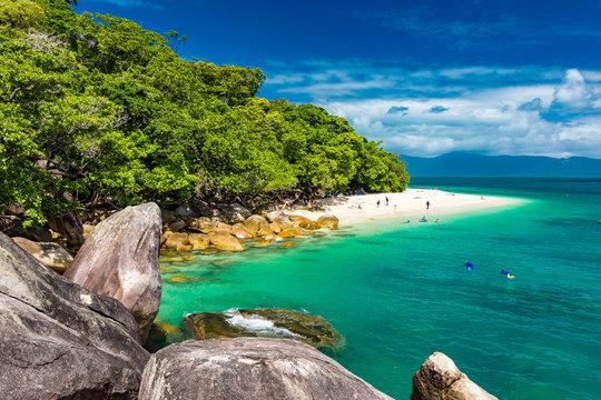 Nudey Beach on Fitzroy Island, Cairns, Queensland, Australia, Great Barrier Reef