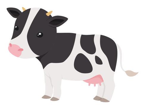 乳牛のイラスト