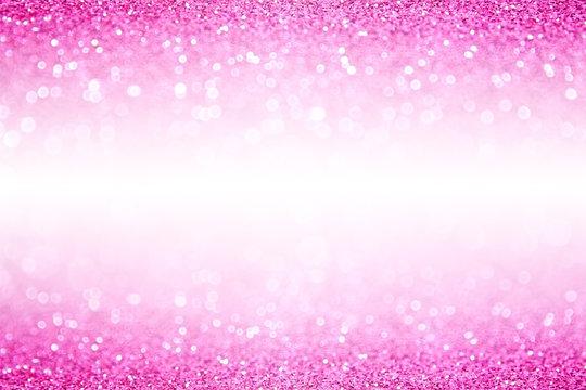 Fancy hot pink glitter sparkle girly background