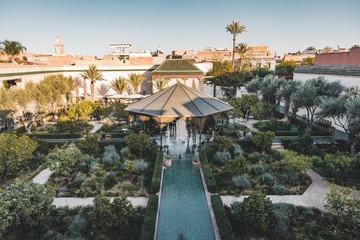 Le Jardin Secret Garden, Marrakech, Morocco old Madina, Marrakech, Morocco. Fototapete