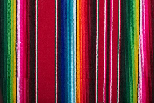 Sarape Zarape or Jorongo - traditional Mexican cloth