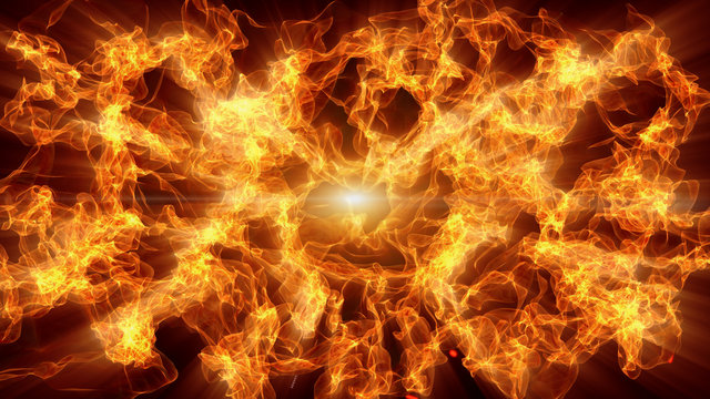 Abstract blaze fire flame texture background. Light ray beam.