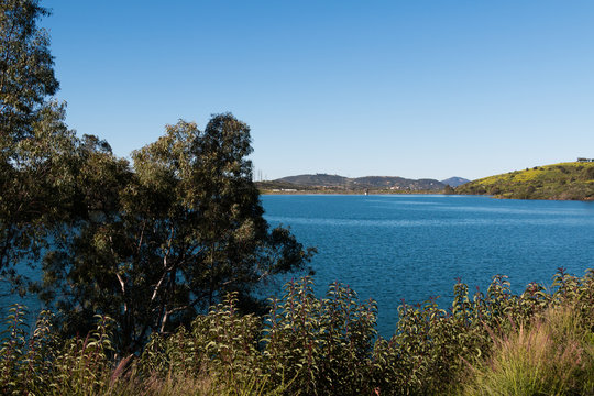 Lake Jennings is an 85 acre lake in Lakeside, California, located in San Diego County. This water supply reservoir is known for producing big largemouth bass and blue catfish.
