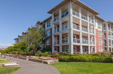 Retirement community in Richmond BC Canada.