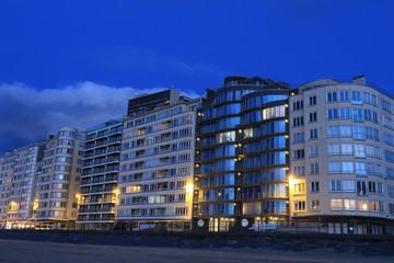 Gebäude in Ostende