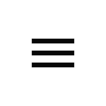 hamburger menu vector isolated icon