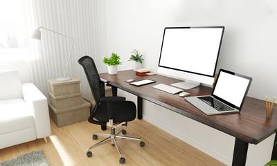 home office desktop
