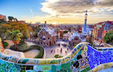 Foto op Canvas Barcelona Park Guell, Barcelona