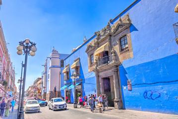 Wall Mural - Puebla, Mexco, Historical center