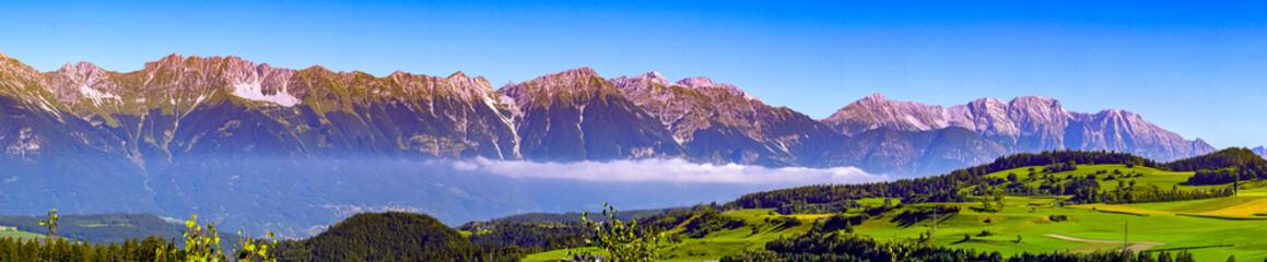 Wall Mural - karwendel mountains - panorama