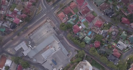 Wall Mural - Aerial view of architecture of residential suburbs  of Johannesburg, South Africa