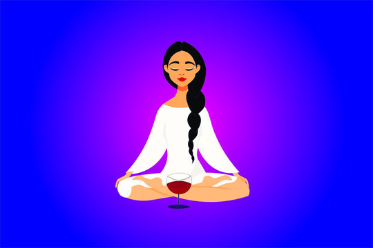 Pregnant woman and vices. A woman does yoga during pregnancy. healthi or unhealthy. Pregnancy regimen. Allowed and allowed. Moderate quantities