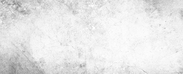 Poster Retro White background on cement floor texture - concrete texture - old vintage grunge texture design - large image in high resolution