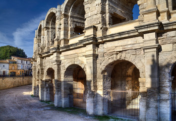 The Roman arena in Arles, France