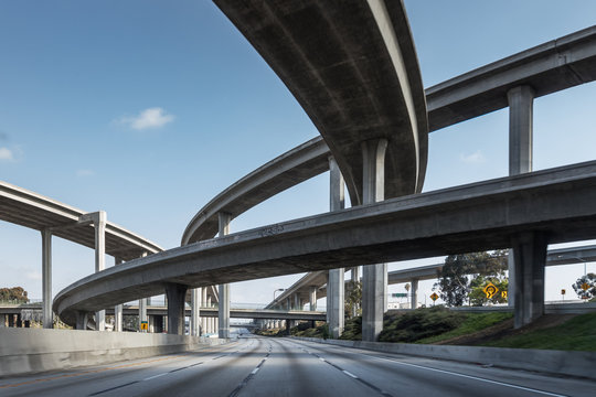 Vacant Los Angeles HIghways - COVID-19