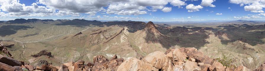 Mojave Desert Summit Panorama